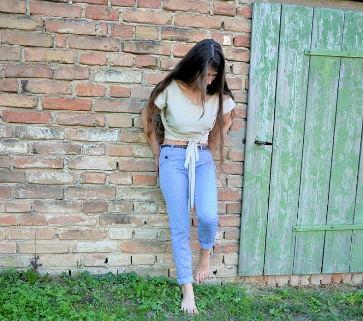 Jeans-Chambray-naehen